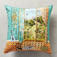 Post-Impressionism Pillow by Anthropologie