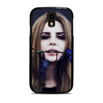 Lana Del Rey Rose On Her Lips Supreme Samsung Galaxy S4 Case