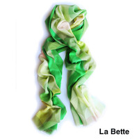 Claire Gaudion Silk Wool Scarves by Claire Gaudion for Claire Gaudion - Free Shipping