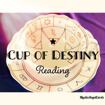 Cup of Destiny Tea Leaf Reading, Tea Reading Divination, Tea Ceremony, accurate and in-depth, email or etsy convo