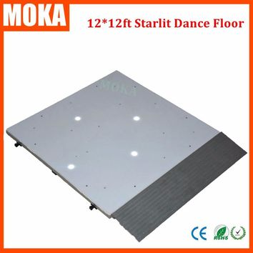 12*12 Feet led starlit dance floor light Led star panel stage wedding dance floor for dj disco bar night-club stage lighting