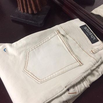 """Balmain Jeans 'Size 36""""s' (Beautifully Crafted And Processed) Must See!!"""