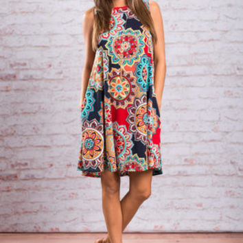 Forever Fun Dress, Red