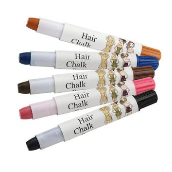 DCCKL72 Beauty Girl Hot Joyous One-time Wax Cover Hair Highlights Gradient Pen Cover White Hair Pen Oct 27