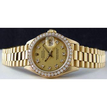 DCCKL7H ROLEX Ladies Fashion Quartz Watches Wrist Watch