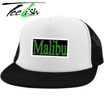 TeeLish District Trucker Hat with Snapback