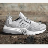 """NIKE""Air Presto  Men Fashion Running Sport Casual Shoes Sneakers sliver-gray-black hook H-AA-SDDSL-KHZHXMKH"