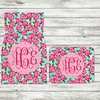 Monogrammed Car Floor Mats, Monogrammed Car Accessories, Monogrammed Car Floor Mats, Monogrammed Gift, Teenager Gifts, First Car Gift