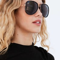 Quay Needing Fame Aviator Sunglasses - Urban Outfitters