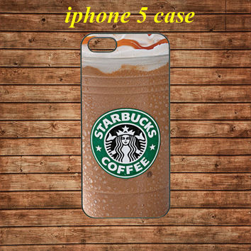 iphone 5 case,iphone 5 hard case,iphone 5 cover,iphone 5 hard cover---Starbucks ice coffee,in plastic