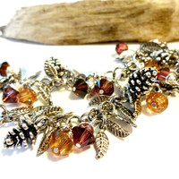 Boho Bracelet Made with Swarovski Crystal Elements