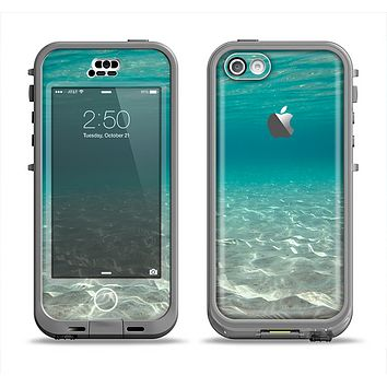 The Under The Sea Scenery Apple iPhone 5c LifeProof Nuud Case Skin Set