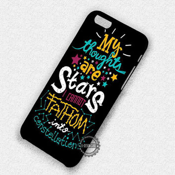 My Thoughts Are - iPhone 7 Plus 6 5 4 Cases & Covers