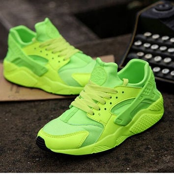 Neon Custom Huarache Run