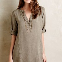 Splitneck Tunic by Cloth & Stone Beige
