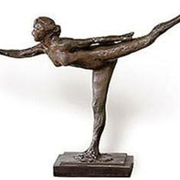 Arabesque Dancer Study Sculpture Replica by Edgar Degas 17L