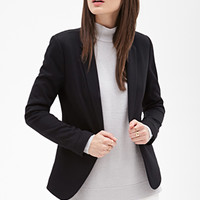 FOREVER 21 Single-Button Blazer