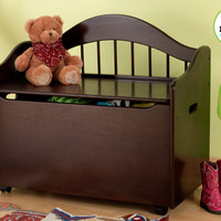 KidKraft Limited Edition Toy Box - Espresso - 14156