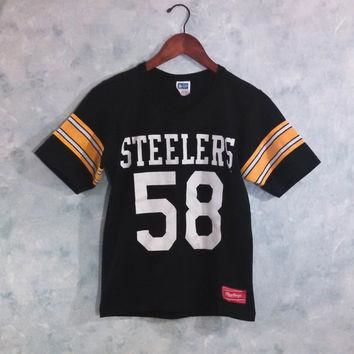 detailed look a658f 57fc5 Shop Vintage Steelers T-shirts on Wanelo