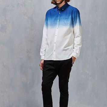 Koto Stevens Dip-Dye Oxford Button-Down Shirt
