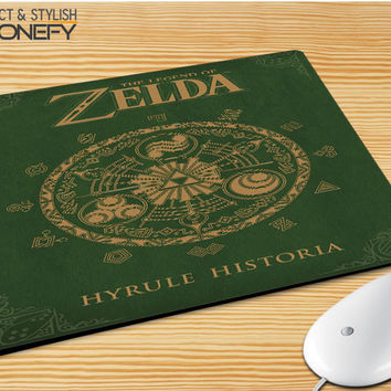 Zelda Cover Hyrule Histeria Mousepad Mouse Pad|iPhonefy