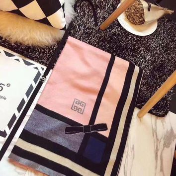 ONETOW Givenchy Women Fashion Cashmere Scarf Scarves
