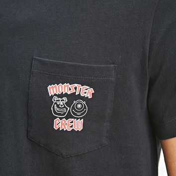 Men Pixar Monster Crew Tee