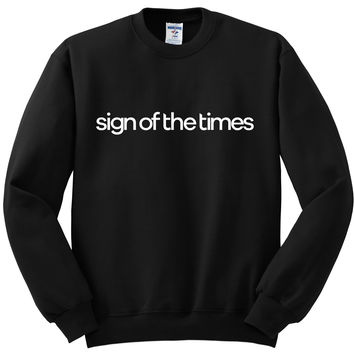 "Harry Styles ""Sign of the Times"" Crewneck Sweatshirt"