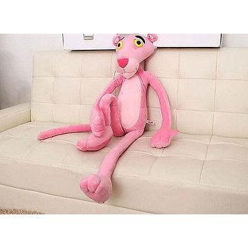 Baby Toys Plaything Cute Naughty Pink Panther Plush Stuffed Doll Toy Home Decor 40CM