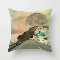 Nostalgy Throw Pillow by Infloence