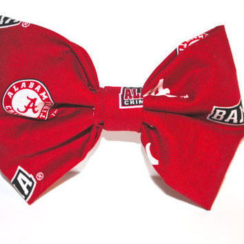 Collegiate Game Day School Spirit Hair Bow
