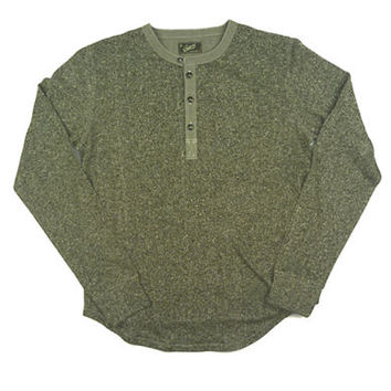 Grayers Terry Cloth Two Tone Henley