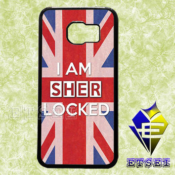I Am Sherlocked case For Samsung Galaxy S3/S4/S5/S6 Regular/S6 Edge and Samsung Note 3/Note 4 case