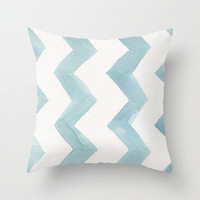 Watercolor Cure Throw Pillow by Catherine Holcombe