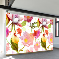Water Lotus Wall Mural