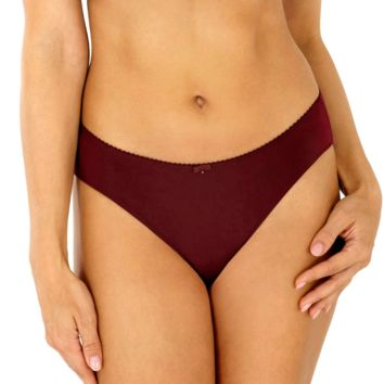 Soft Mid Rise Brief Panty Rosme Winter Lily