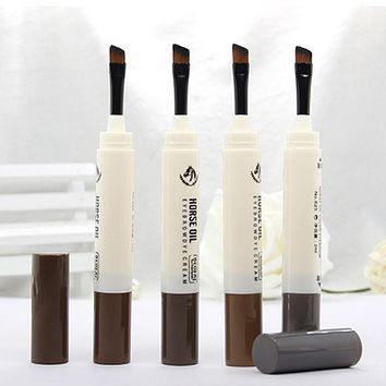 Makeup Eye Brow Pencil Pen Fine Eyebrow Enhancer Waterproof Brow Make Up Cosmetic Natural eyebrow lasting perfect gel eyebrow