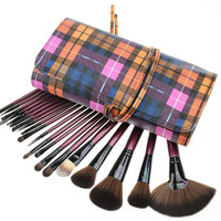 20Pcs Hot Sale Pale Violet Luxury Makeup Brush Sets [9647074255]