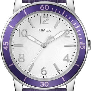Timex Womens Ameritus Purple Strap Sport Watch