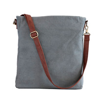 Waxed Ash Canvas Sling Crossbody