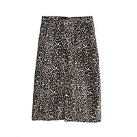 J.Crew Womens Collection Printed Calf Hair Skirt