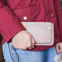 City Haze Wallet - Light Taupe