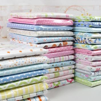 2 Pc 76x76 Cm Baby Blankets 100% Knitted Super Soft  Cotton