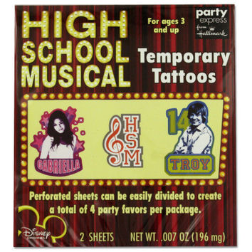 High School Musical Tattoos ( Case of 72 )