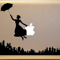 Mary Poppins Inspired Macbook Vinyl Decal for MAC Laptop