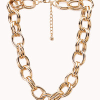 Goddess Double-Chain Choker