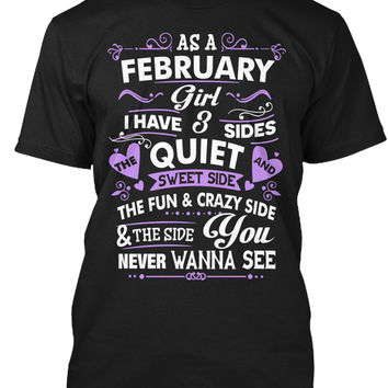 As A February Girl I Have Three Sides