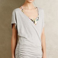 Draped French Terry Top