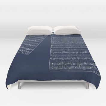 Dancing to the music of life Duvet Cover by Anipani
