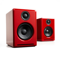 Audioengine: A2+ Powered Desktop Speakers - Red (A2+R)